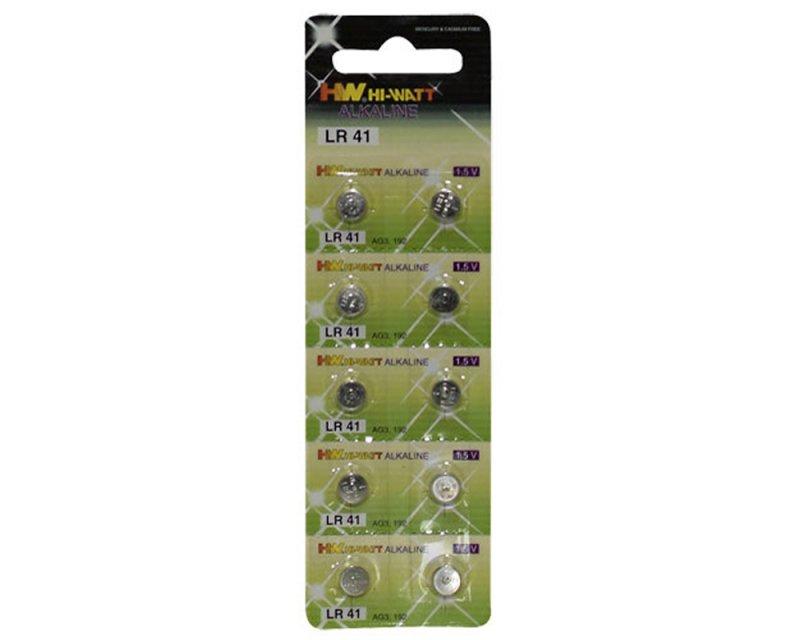 LR41 Batterijen - 10 Stuks