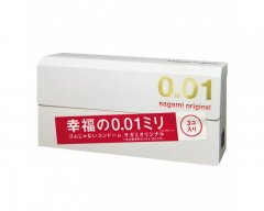 Sagami Original 0.01 - 2 stuks