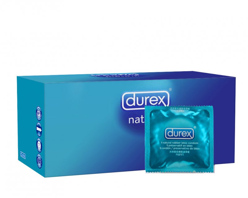 Durex Natural 144 stuks