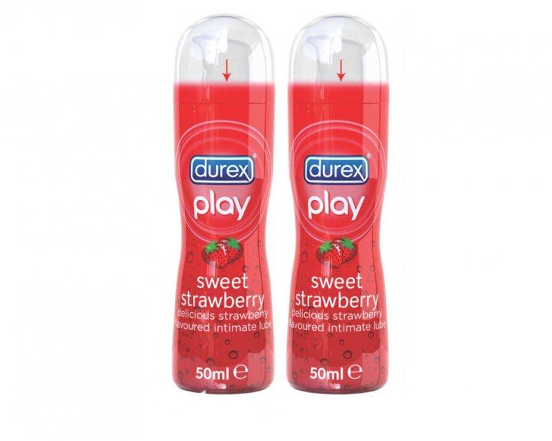 Durex Play Sweet Strawberry 2 x 50ml