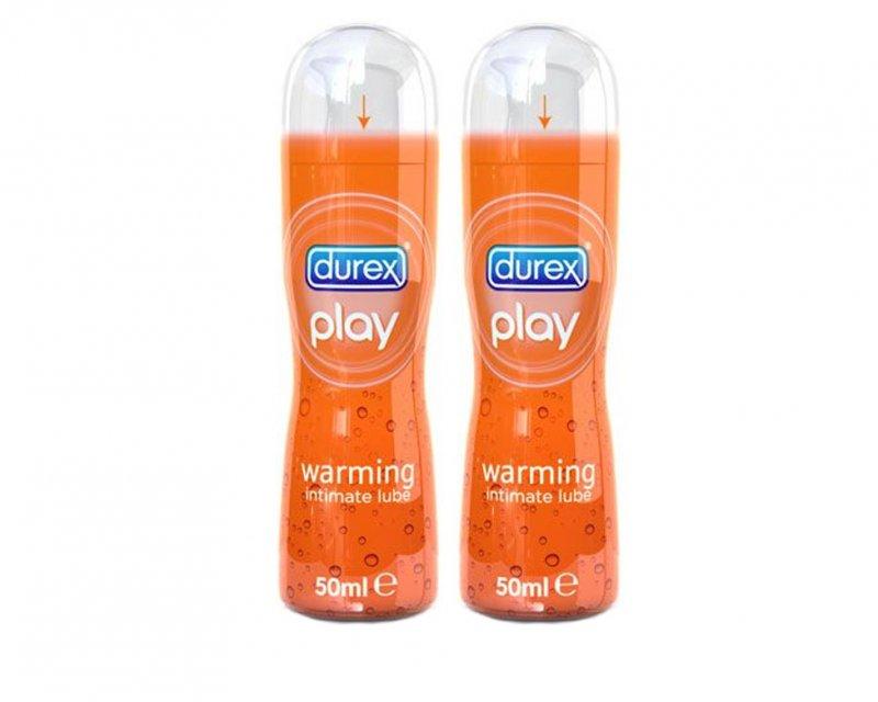 Durex Play Warming 2 x 50ml