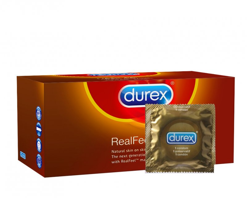 Durex Real Feel 144 stuks