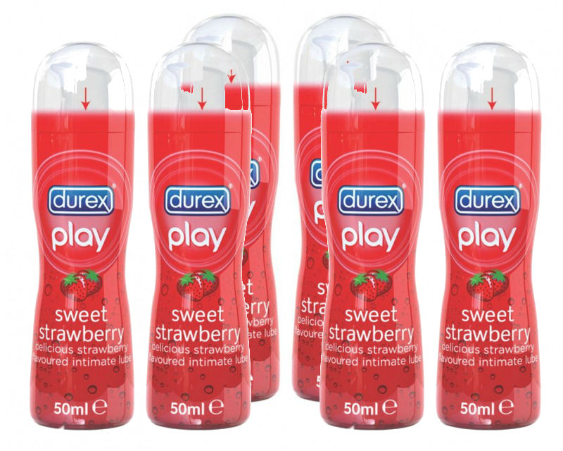 Durex Play Sweet Strawberry 6 x 50ml