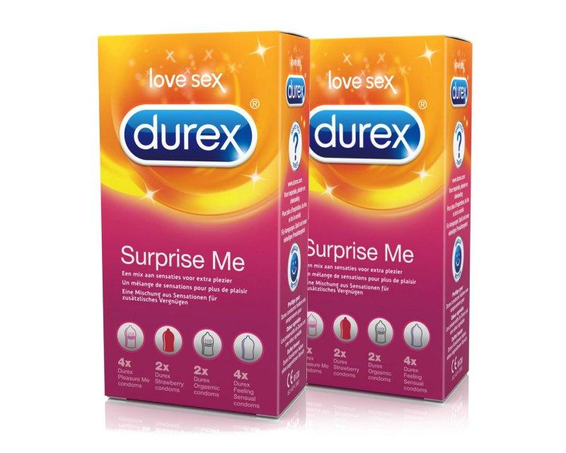 Durex Surprise Me 24 stuks