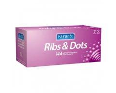 Pasante Ribs & Dots 144 stuks